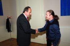 s mnistrem zahraničí Janem Kohoutem